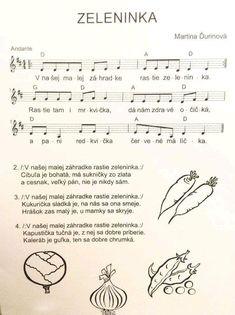 Kids Songs, In Kindergarten, Preschool Activities, Sheet Music, Poems, Education, Learning, Creative, Revolution