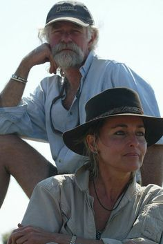 Dereck and Beverly Joubert.....Botswana filmmakers of the Lions.  View their films and photos!
