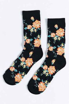 Floral Sock - Urban Outfitters
