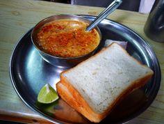 Misal Pav (Kolhapuri indian fastfood)