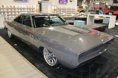 The Roadster Shop 1968 Dodge Charger is a Custom Classic at SEMA 2014....Re-pin...Brought to you by #HouseofInsurance for #CarInsurance Eugene, Oregon