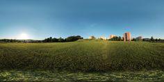 Panoramatická fotografie z Jižních Svahů ve Zlíně