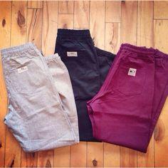 Baseball pants. Cotton twill trouser fabric