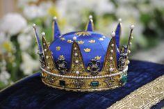 Royal Crown for baptism of Princess Estelle, daughter of Crown Princess Victoria of Sweden.