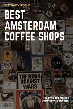 Your Ultimate Guide to Amsterdam Coffee Shops // The Best Coffee Shops in Amsterdam // Coffee Shop Etiquette // Amsterdam Shopping, Amsterdam City, Amsterdam Travel, Amsterdam Coffee Shops, Amsterdam Weekend, Amsterdam Itinerary, Visit Amsterdam, Tales Of The Unexpected, Restaurant Advertising