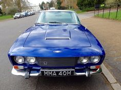 Looking for the Jensen FF of your dreams? There are currently 2 Jensen FF cars as well as thousands of other iconic classic and collectors cars for sale on Classic Driver. Jensen Interceptor, Collector Cars For Sale, Dream Garage, Automotive Design, Grey Leather, Aston Martin, Motor Car, Cars And Motorcycles, Cool Cars