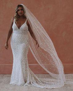 39 Plus-Size Wedding Dresses: A Jaw-Dropping Guide ❤ plus size wedding dresses with spaghetti straps beach sexy madewithlove #weddingforward #wedding #bride #weddingoutfit #bridaloutfit #weddinggown
