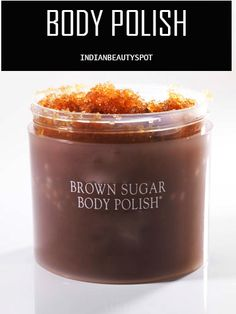 DIY BODY POLISH - To make your own natural body polish, you will need:  * 2 cups Brown sugar/ coffee grounds/ sea salt or oatmeal.  * 1/4 cup Honey  * 1/2 cup olive oil  * Lemon essential oil (optional)