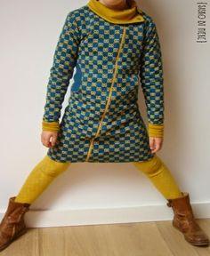 patroon is sweater patroon uit stof voor durf het zelvers 2