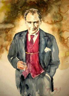 Atatürk. Ressam Rezzan Yıldız