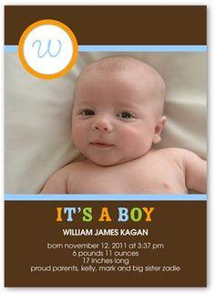 Birth Announcement: