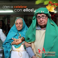 En #CasadeDescansoAmistad festejamos a nuestros adultos mayores con nuestra tradicional posada.