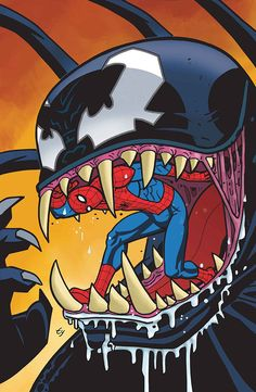 Spider-Man vs. Venom by Ty Templeton