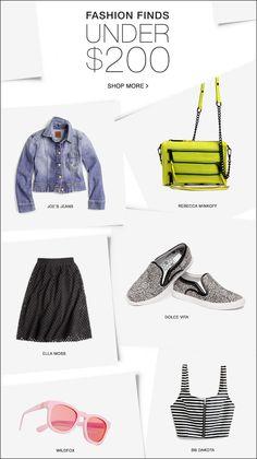 fashion finds under $XXX
