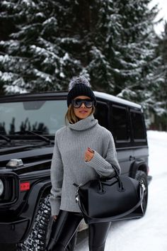 Winter Fashion Outfits, Fall Winter Outfits, Autumn Winter Fashion, Holiday Outfits, Winter Wear, Cozy Winter, Winter Snow, Mode Outfits, Casual Outfits