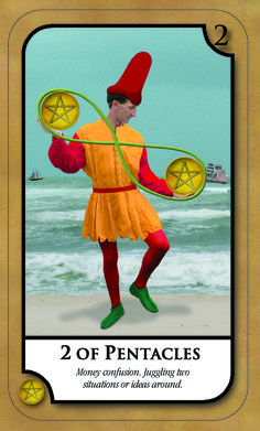 #SimplyTarotCard for Fridday 20th January 2017 2 OF PENTACLES  Money confusion. Juggling two situations or issues around.. Join our news letter @ www.amandahallpsychic.com.au Lots of events and great special prices on products and services.  Like our FB Page https://www.facebook.com/amandahallpsychic/ Twitter: PsychicAmandaH Intsagram psychicamandah Pinterest:PsychicAmandaH Google+ : https://plus.google.com/u/0/