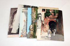 7 Vintage Spain Postcards Used by burstsofcreativity on Etsy https://www.etsy.com/listing/223193004/7-vintage-spain-postcards-used