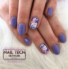 FloRal spring nails by Dana Squibb on nailstyle.com