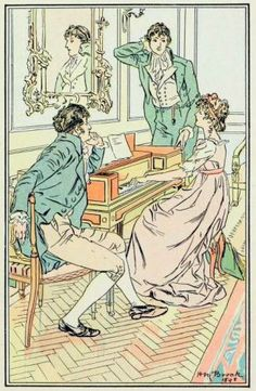 "H. M. Brock. ""At the pianoforte"". P&P. Dent, 1898 [Adelaide]"