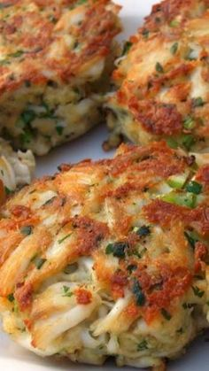 ~ Original Old Bay Crab Cakes ~The recipe as shown is very good, however you can tweak it just a bit. Change as follows - Use 3 to 4 slices of bread instead of the 2, increase the one egg to two (it didn't bind as well as it should), maybe add a few tablespoons of finely chopped green onion and some pepper. Also increase the Old Bay Seasoning to taste.