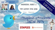 TONS of prizes to give away! [LIVE Tonight!] Back to School Twitter Party – 8/3 AT 7PM EDT