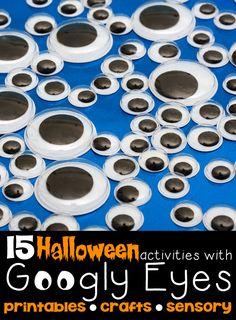 15 Halloween Activities with Googly Eyes