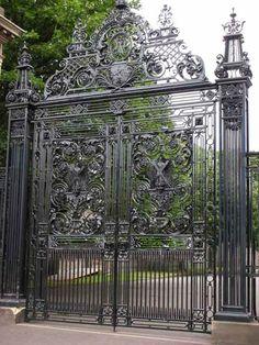 Gates Iron Gates Outdoor Gates Entry Gates Gate Design Fence Gate