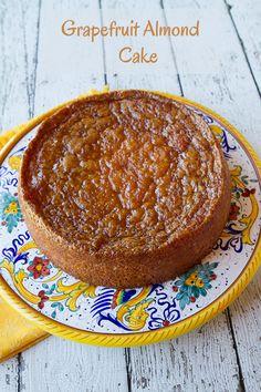 Italian Food Forever » Grapefruit Almond Cake {Gluten Free}