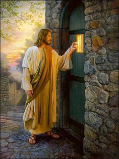 He stands at the door knocking & Jesus left us a command to follow in his footsteps. He u0026 his ... pezcame.com