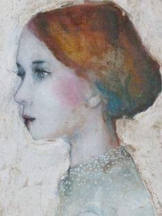 A woman, mirror of every soul. L'art Du Portrait, Abstract Portrait, Art And Illustration, Art Visage, Face Art, Medium Art, Figure Painting, Figurative Art, Painting Inspiration