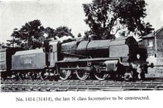 Steam Locomotives of a More Leisurely Era – 1917 – Maunsell 2-6-0 South East & Chatham Railway