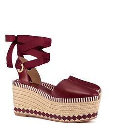Visit Tory Burch to shop for Dandy Espadrille Wedge and more Womens  Espadrilles. Find designer shoes, handbags, clothing & more of this  season's latest ...