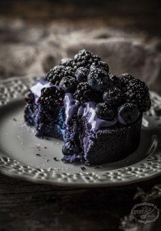 Wild Berry Pound Cake with Mascarpone Yogurt Creme..............I Die......