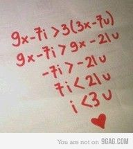 I would totally do something like this!  Love being a math nerd!