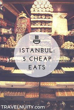 Istanbul is a great city for food. There's no need to go to expensive restaurants to try the best food, just head to these cheap eats in Istanbul. Turkey Vacation, Turkey Travel, Turkey Europe, Turkey Destinations, Travel Destinations, Holiday Destinations, Voyage New York, Visit Turkey, Istanbul Travel