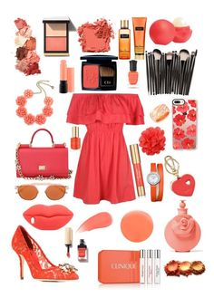 """Untitled #72"" by esstylee on Polyvore featuring Boohoo, Dolce&Gabbana, Jacques Marie Mage, STELLA McCARTNEY, Casetify, Furla, Baume & Mercier, Chopard, Eos and Valentino"