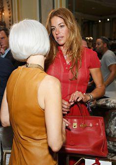 Kelly Bensimon - Michael Bastian - Front Row - Mercedes-Benz Fashion Week Spring 2014