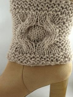 Boot Cuffs Hand Knit Knit boot toppers Hand by ToppyToppyKnits, $25.00