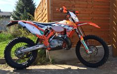 KTM 300 exc Factory 2015 - Waschtag