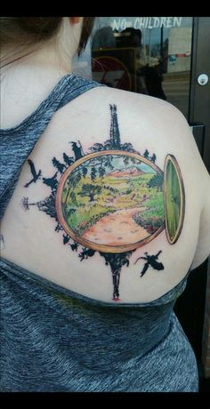 Through the hobbit hole. Tolkien Tattoo, Hobbit Tattoo, Lotr Tattoo, I Tattoo, Piercing Tattoo, Ring Tattoos, Body Art Tattoos, Piercings, Tatoos