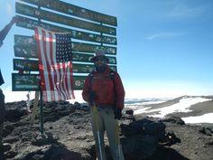 Hernando Madronero reached Uhuru Peak in July 2014!