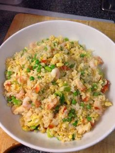 Special fried rice (slimming world friendly) savoury rice recipe, healthy. Slimming World Recipes Extra Easy, Slimming World Dinners, Slimming Eats, Slimming Recipes, Savoury Rice Recipe, Savoury Dishes, Cooking Recipes, Healthy Recipes, Diet Recipes