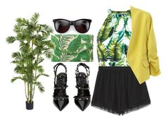 """#189"" by vilte-m ❤ liked on Polyvore featuring Stella & Dot, River Island, Valentino, Prabal Gurung and Wildfox"