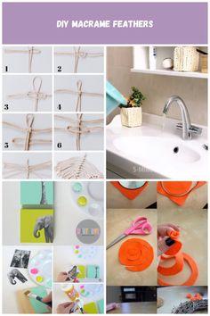 Learn how to make DIY Macrame Feathers! Macrame Knots, How To Make Diy, Baby Love, Feathers, Home Decor, Diys, Homemade Home Decor, Interior Design, Wings