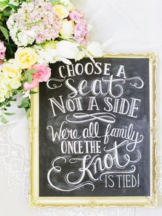 Total Guide To Wedding Signs & Decor ❤ See more: http://www.weddingforward.com/total-guide-to-wedding-signs-decor/ #weddings #decor