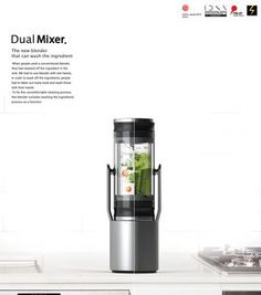 Dual Mixer on Behance Nespresso, Industrial Design, Mixer, Coffee Maker, Cool Designs, Kitchen Appliances, Product Display, Behance, Pressure Points