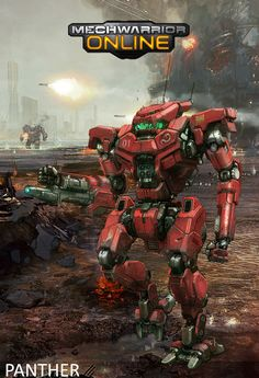 Panther, concept art from MWO