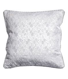 Jacquard Weave Glittery Brocade Accent Decorative Throw Pillow Cover Metallic Silver Throw Pillow Cover Cushion 16-by-16 inch Sparkly Floral Twisted Cord Piping Edges, http://www.amazon.com/dp/B01G7G9J2A/ref=cm_sw_r_pi_awdm_mAPxxbKAY5WQQ