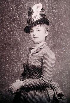 Portrait of sculptor Camille Claudel, 1890's