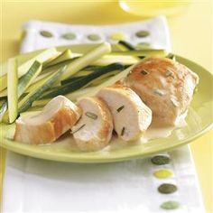 Chicken with Rosemary Butter Sauce for 2 Recipe -This simply elegant entree for two requires a minimum of effort but will win you compliments. You'll love the mellow sauce!—Connie L McDowell, Greenwood, Delaware